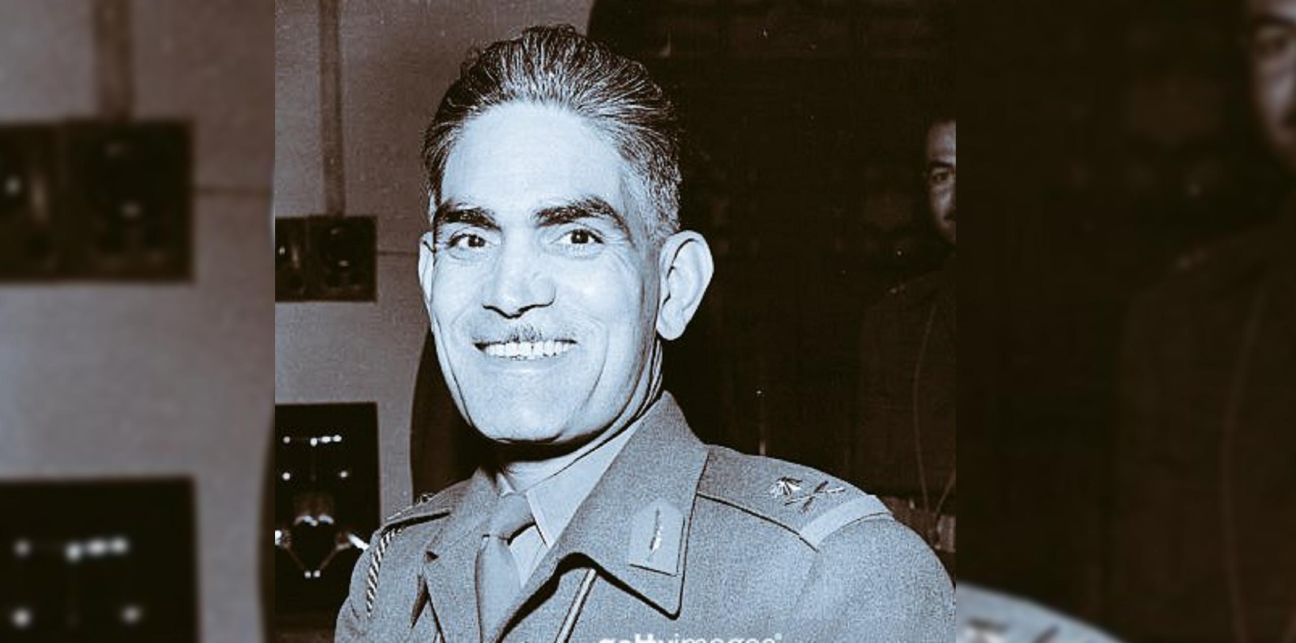 Col. Abd al-Karim Qasim, who launched the 1958 coup. (Twitter, @mometov)