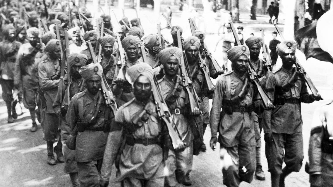 مجندون هنود بالحرب العالمية الأولى