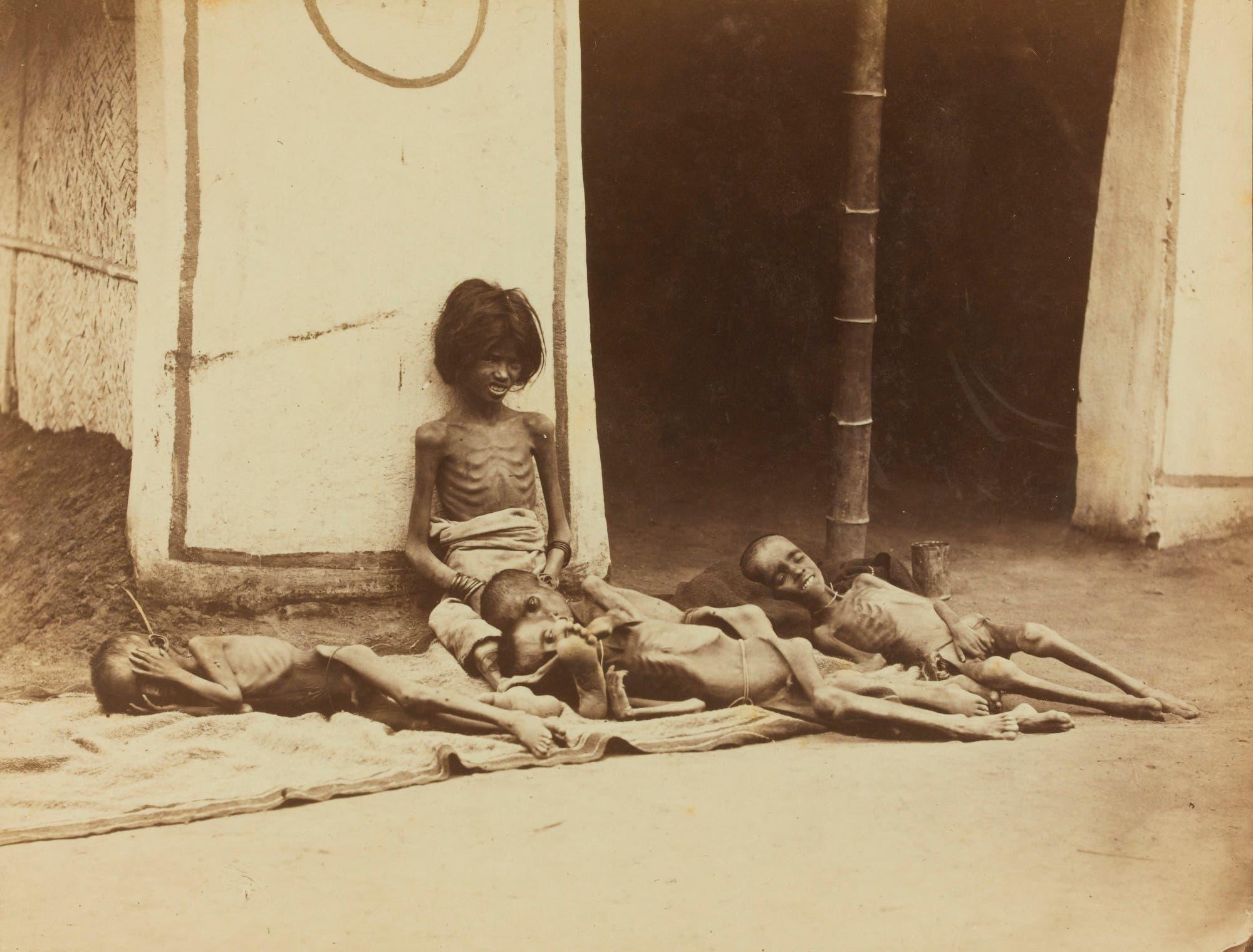 من الهند أثناء فترة التواجد البريطاني