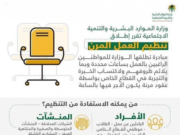 السعودية تطلق نظاما جديدا للعمل.. الأجر بالساعة