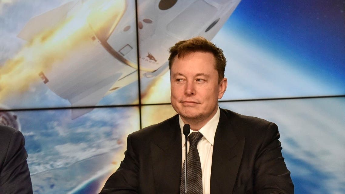 SpaceX founder and chief engineer Elon Musk attends a post-launch news conference. (Reuters)
