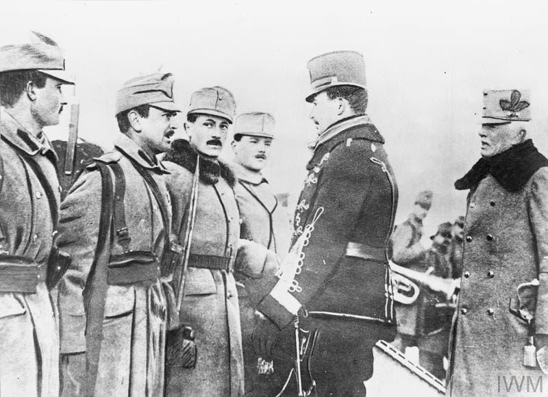 صورة لجنود نمساويين بالحرب العالمية الأولى