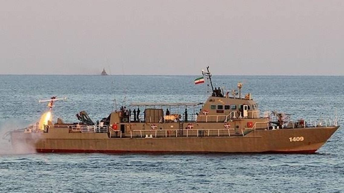 An unverified photo reportedly showing the Konarak war vessel. (Twitter, @FieldMarshalPSO)