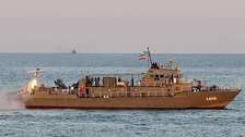 Iranian destroyer attacks Iranian warship during drill, at least 19 dead: Iran TV