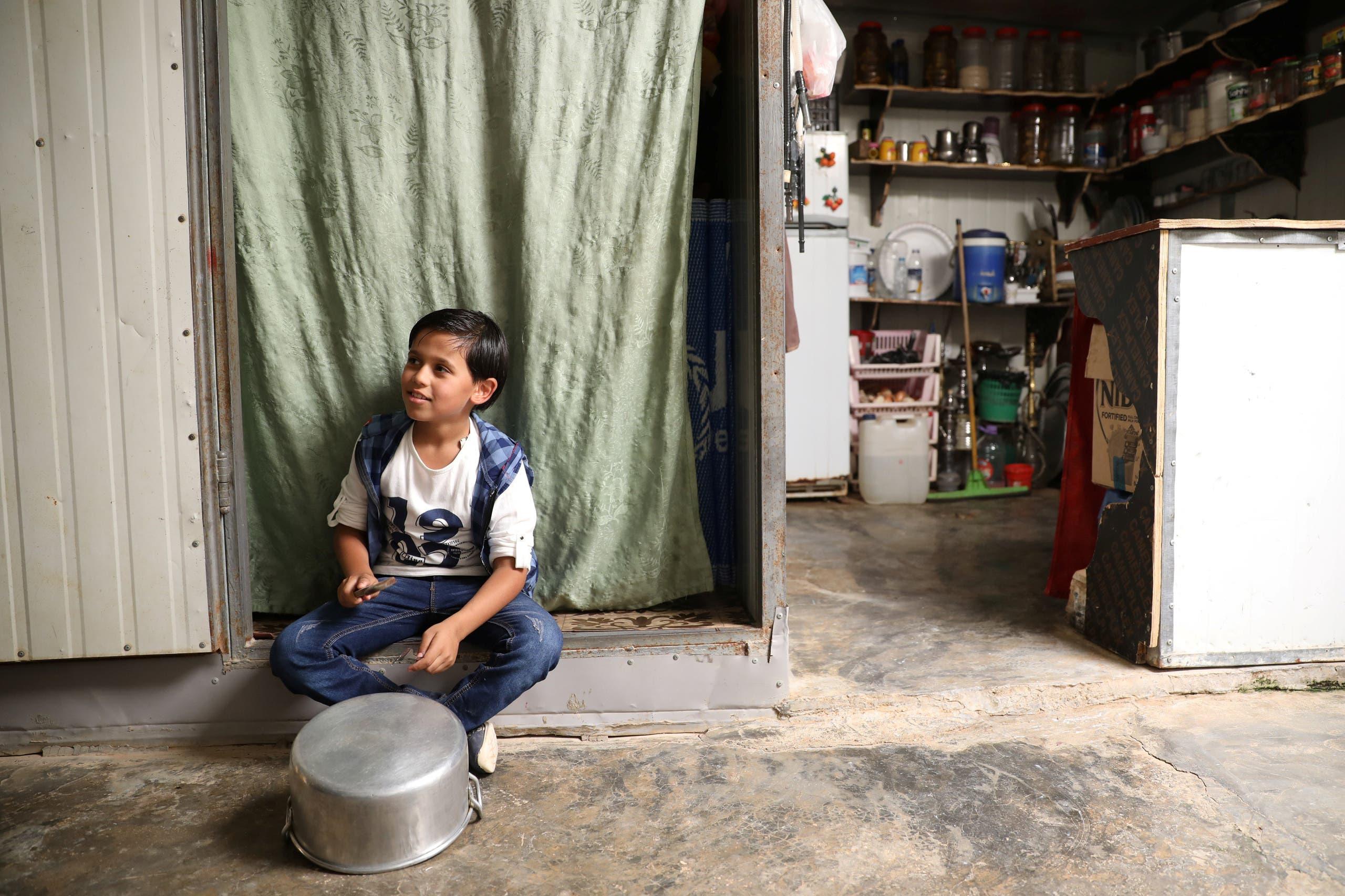 من مخيم الزعتري (أرشيفية)
