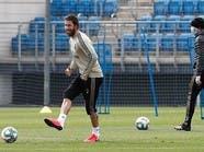 بالصور.. لاعبو ريال مدريد يعودون إلى التدريبات