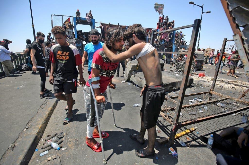بغداد - 11 مايو فرانس برس