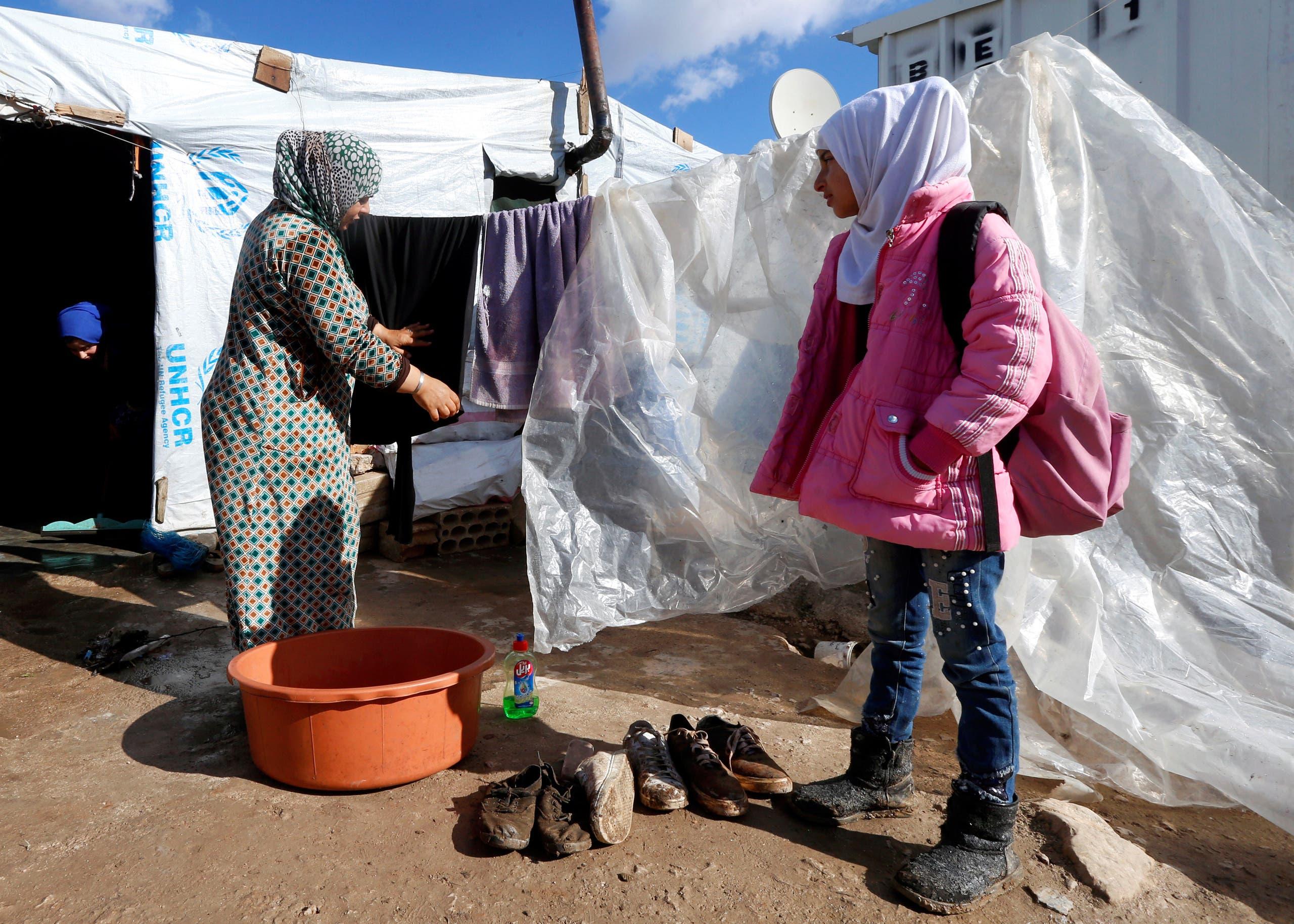 پناهندگان سوری در دره بقاع (بایگانی)