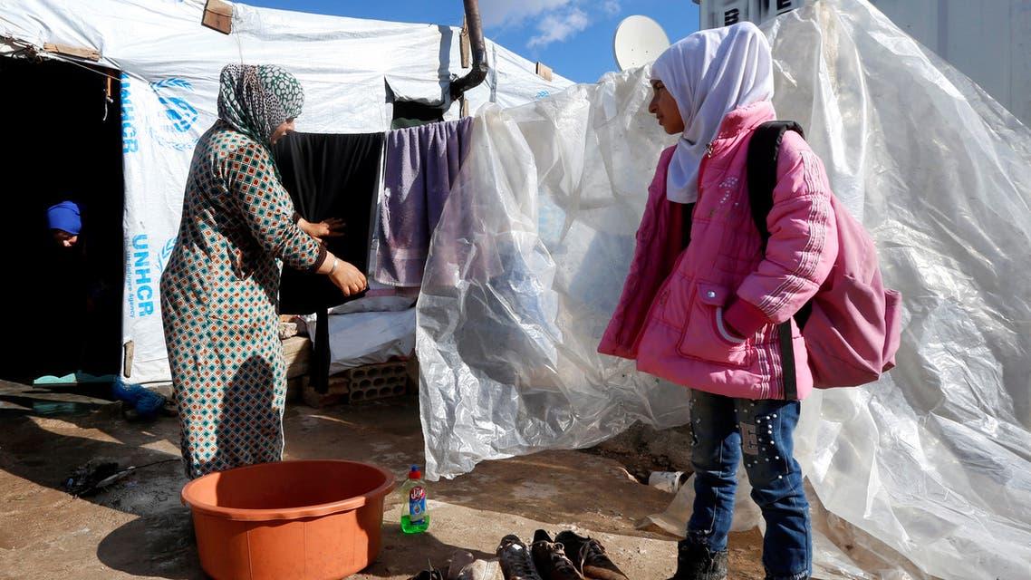 لاجئون سوريون في سهل البقاع (أرشيفية)