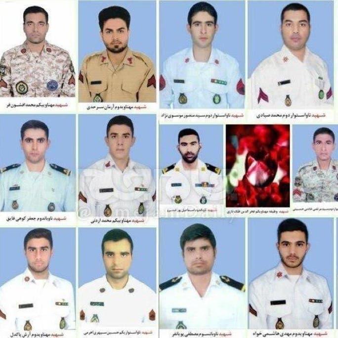 إيران تشيع قتلى الفرقاطة الـ19 ومطالبات بالتحقيق