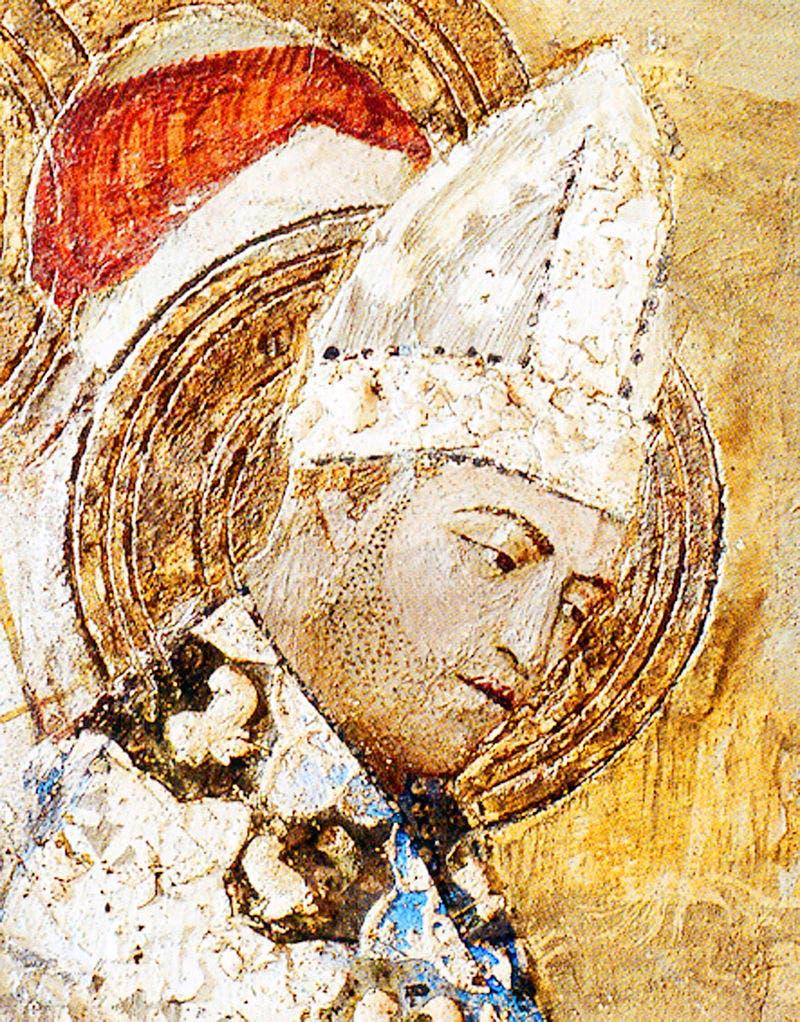 لوحة تجسد البابا كليمنت السادس
