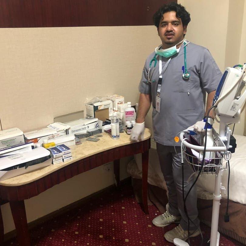 قصة طبيب سعودي عاد من الصين إلى العمل التطوعي