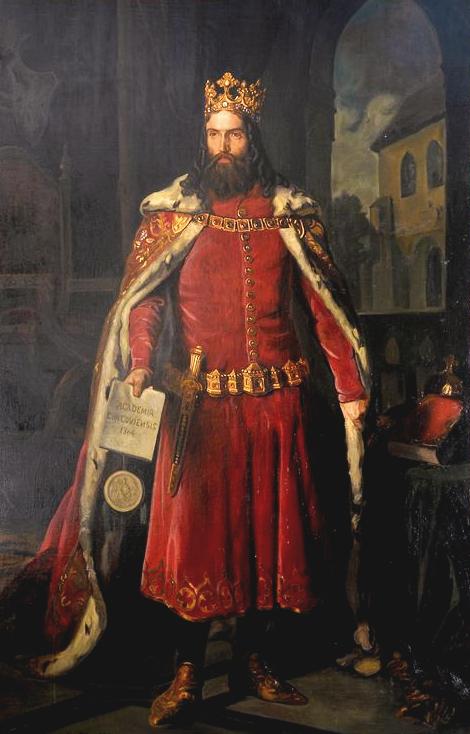لوحة تجسد ملك بولندا كازيمير الثالث