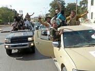 حشود لتشكيلات الوفاق الليبية بقيادة القوات التركية على حدود ترهونة