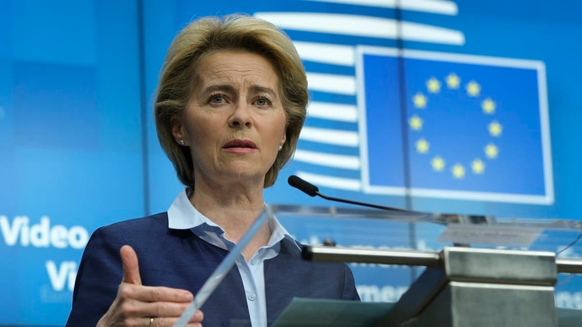 European Commission President Ursula Von Der Leyen. (File photo: AFP)