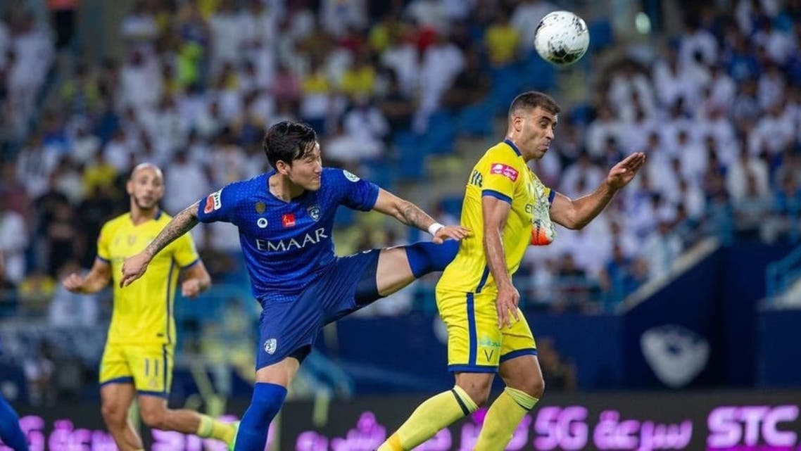 Saudi al-Hilal FC is currently is 6 points ahead in the competition with 8 rounds remaining at the end of the league. (File photo)