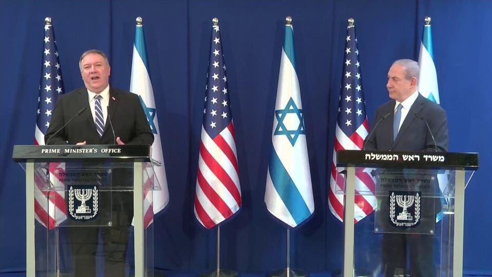 """وزير الخارجية الأميركي يصل إلى إسرائيل لمناقشة خطوة """"الضم"""" الإسرائيلية"""