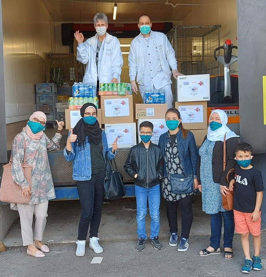 من مبادرة جمعية البيت السوري في رانس