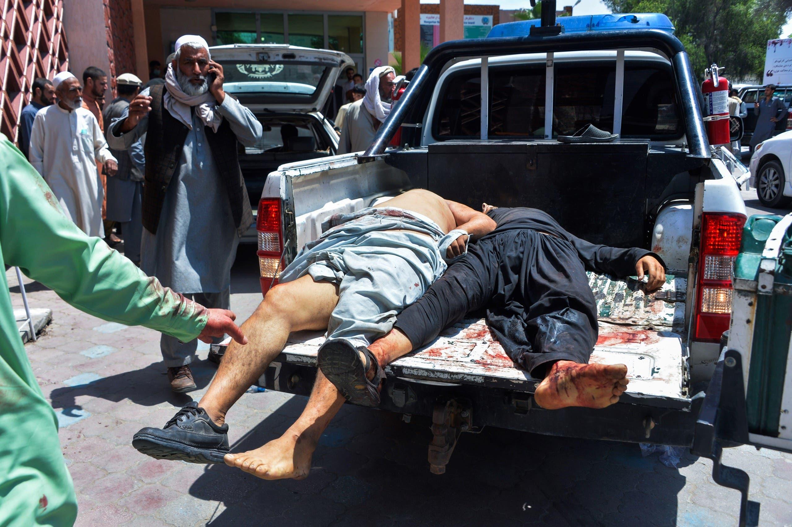 تفجير سابق في أفغانستان (أرشيفية- فرانس برس)