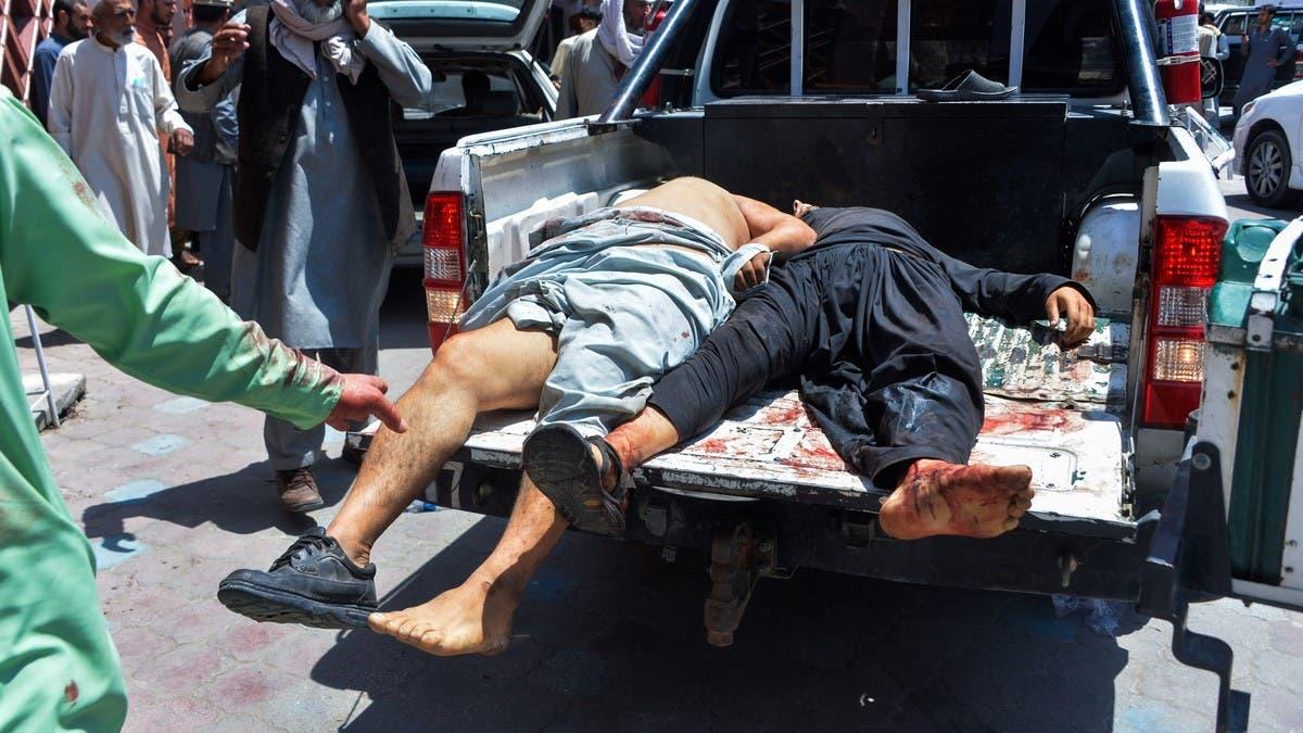 أفغانستان.. مقتل أكثر من30 شخصا بانفجارسيارة مفخخة