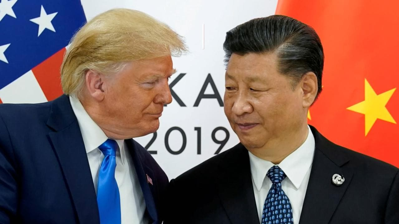 الرئيسان الصيني والأميركي