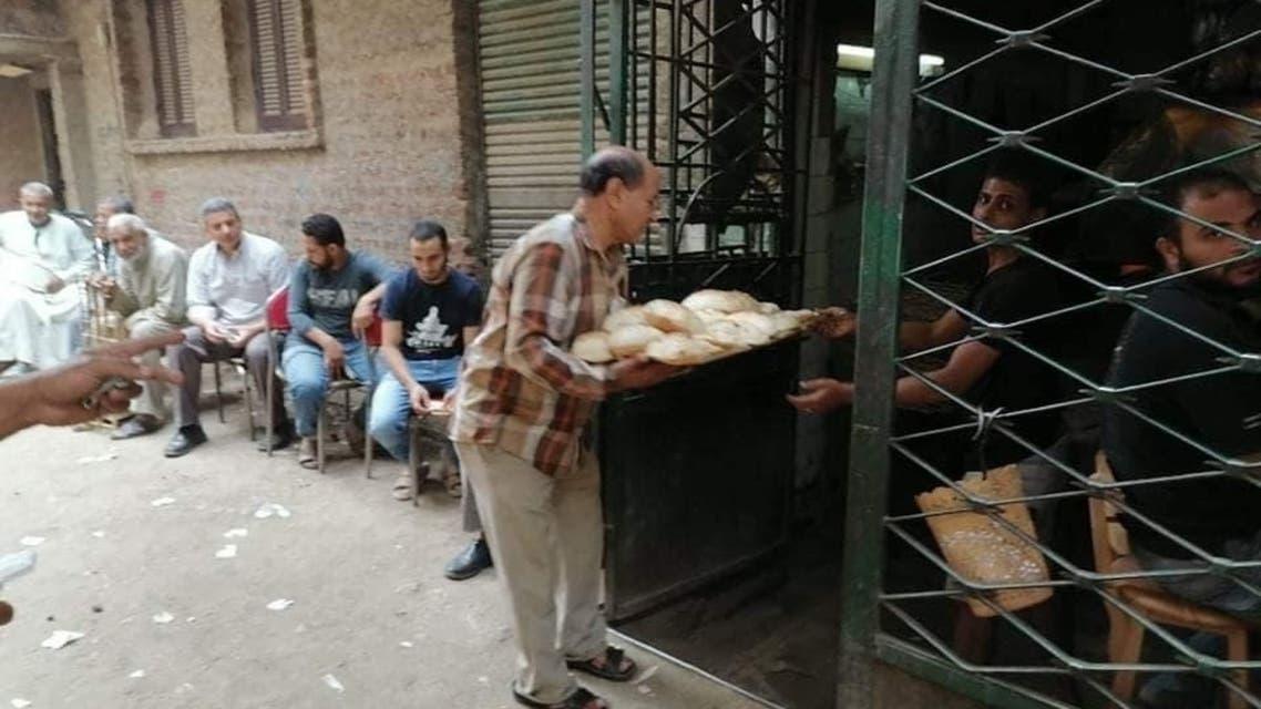 صاحب مخبز في مصر
