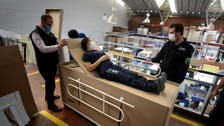 Coronavirus: Colombian company creates bed that can double as coffin