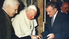 Retired pope Benedict XVI says St. John Paul II be called 'the Great'