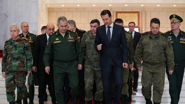 """""""زيارة غامضة"""" لوزير روسي تفجر خلاف بوتين - الأسد"""