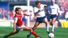 Former Arsenal and England defender Kenny Sansom in hospital