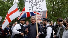 Coronavirus: London police arrest 19 for protesting against social distancing