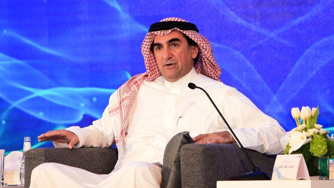 Yasir al-Rumayyan, governor of Saudi Arabia's Public Investment Fund speaks during a press conference in the eastern Saudi Arabian region of Dhahran on November 3, 2019.. (File photo: AFP)