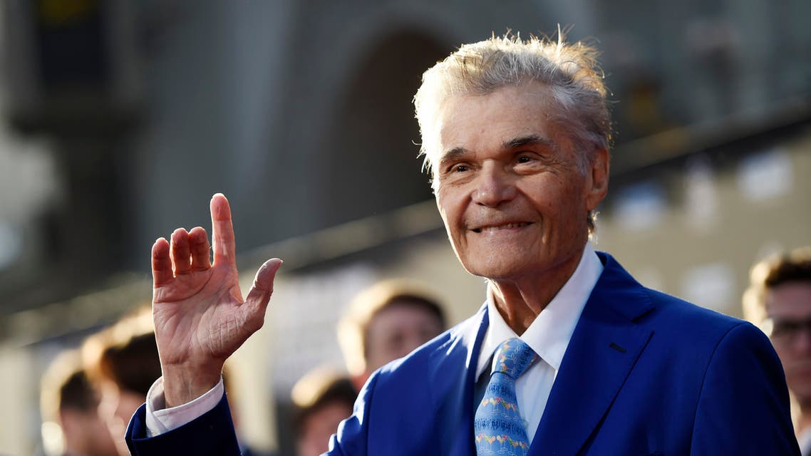 Actor Fred Willard poses before a 50th anniversary screening of the film In the Heat of the Night on the opening night of the 2017 TCM Classic Film Festival at the TCL Chinese Theatre on Thursday, April 6, 2017, in Los Angeles (AP)