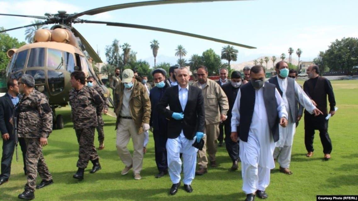 Update pic  Saleh arrived in Nanagarhar