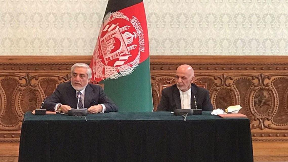 توافقنامه سیاسی میان محمد اشرف غنی و عبدالله عبدالله امضا شد