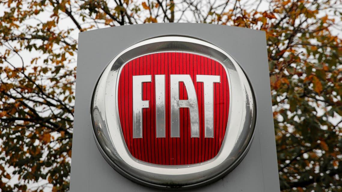 Logo of car manufacturer Fiat seen in Zurich. (File photo: Reuters)