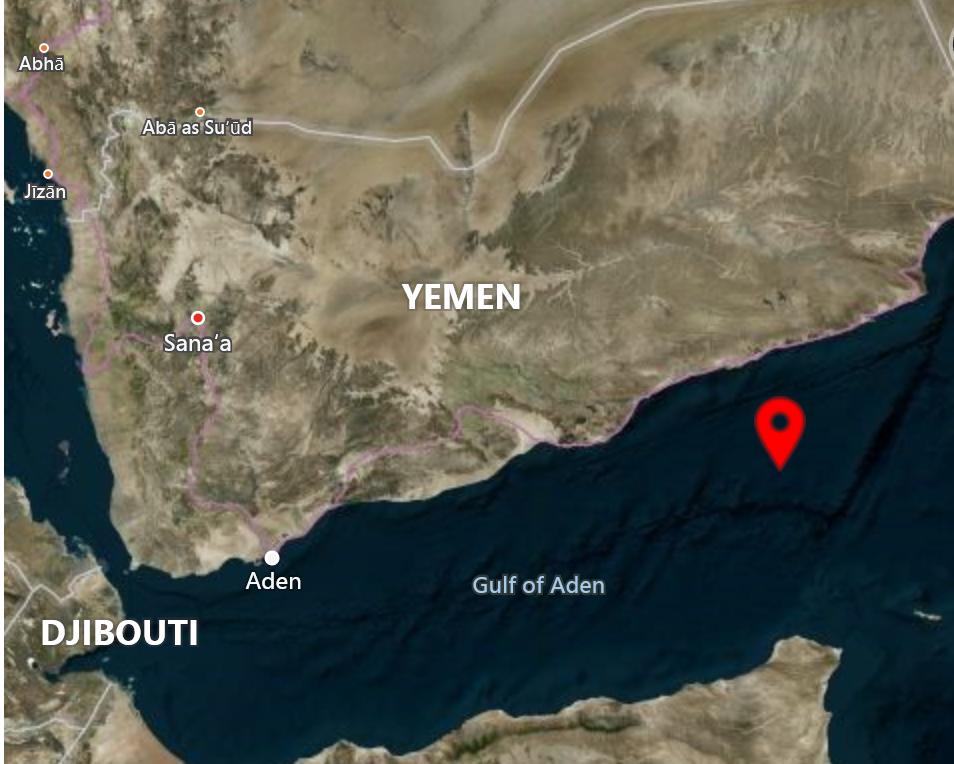 موقع الهجوم حسب خريطة نشرها المركز