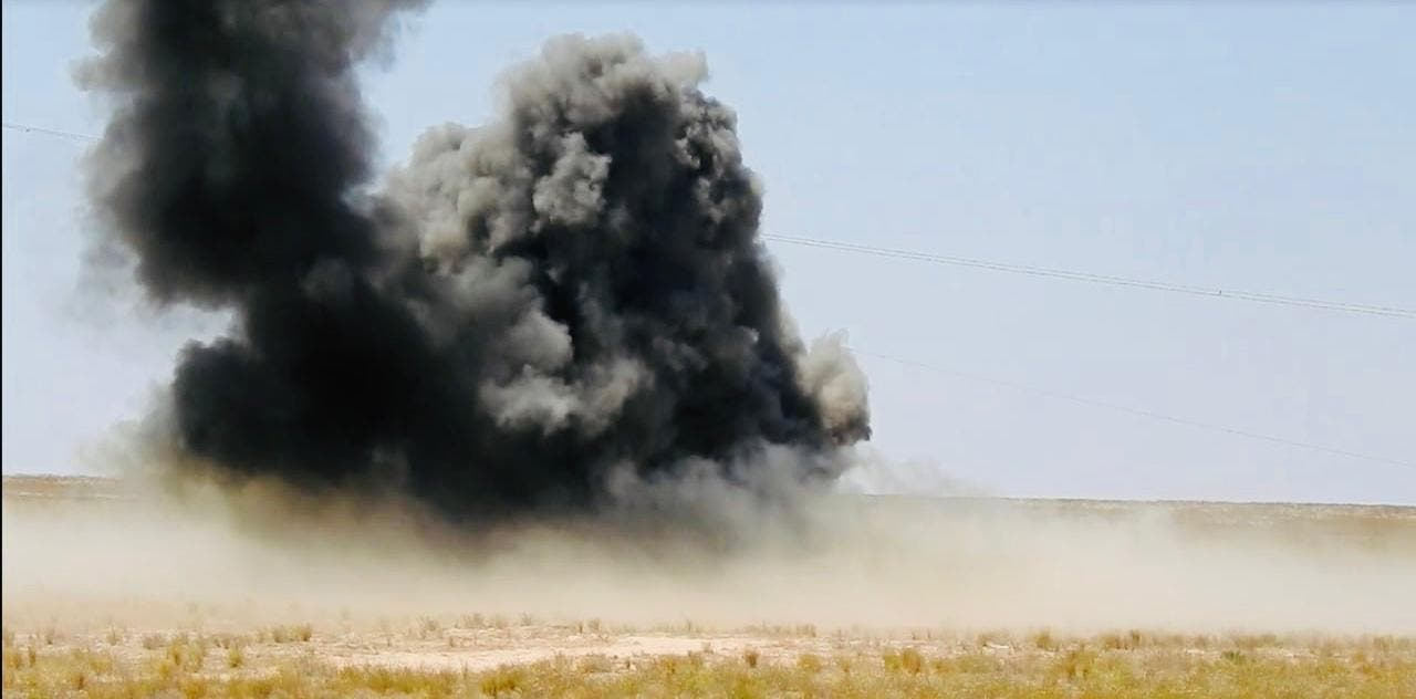 من عمليات أسود الجزيرة  - العراق