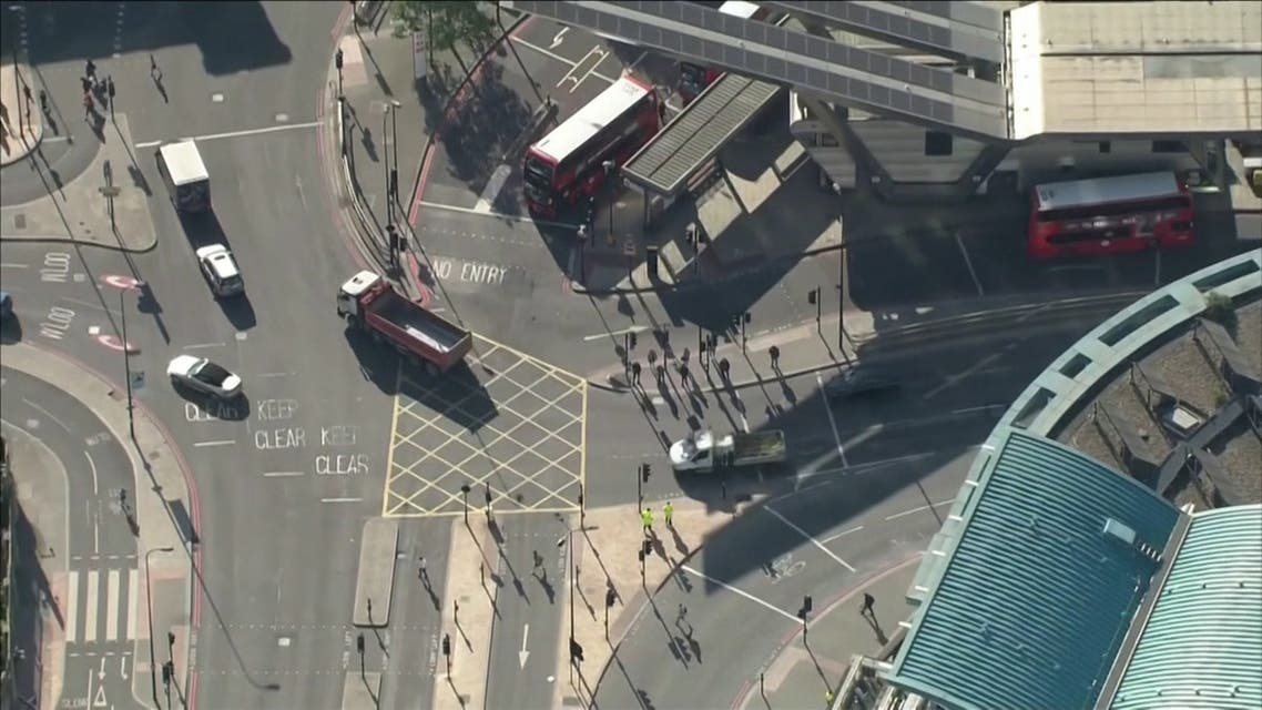 Aerials over London as lockdown measures continue to ease.00_00_43_11.Still003