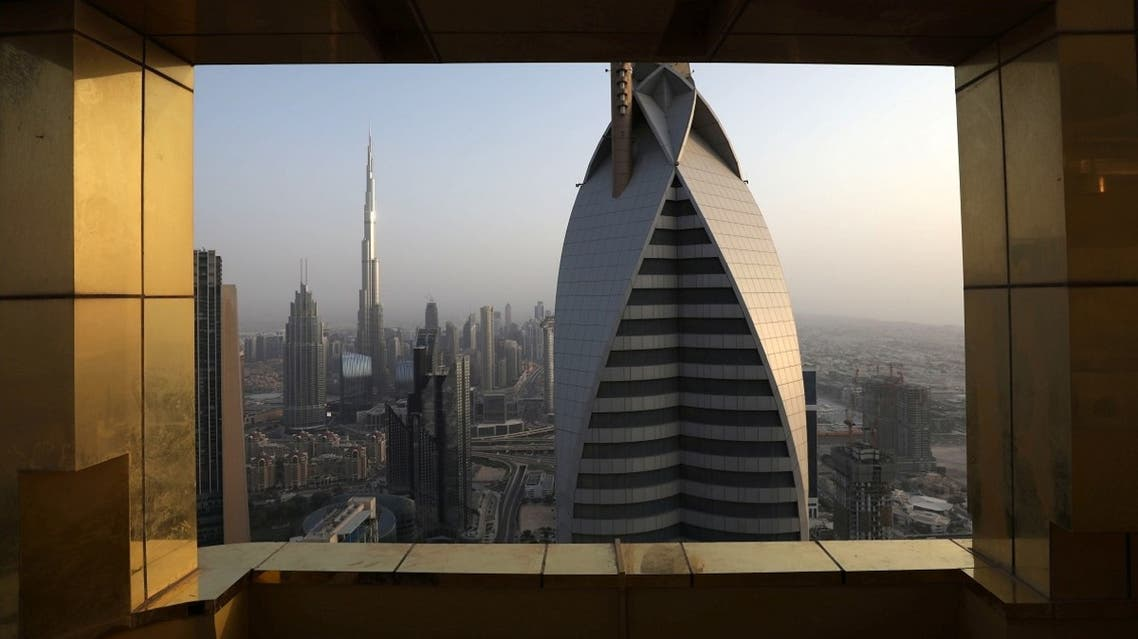 A general view of the Burj Khalifa, the world's tallest building, and the Dubai skyline from the Gevora Hotel, currently the world's tallest hotel, in Dubai, United Arab Emirates June 23, 2019. (Reuters)