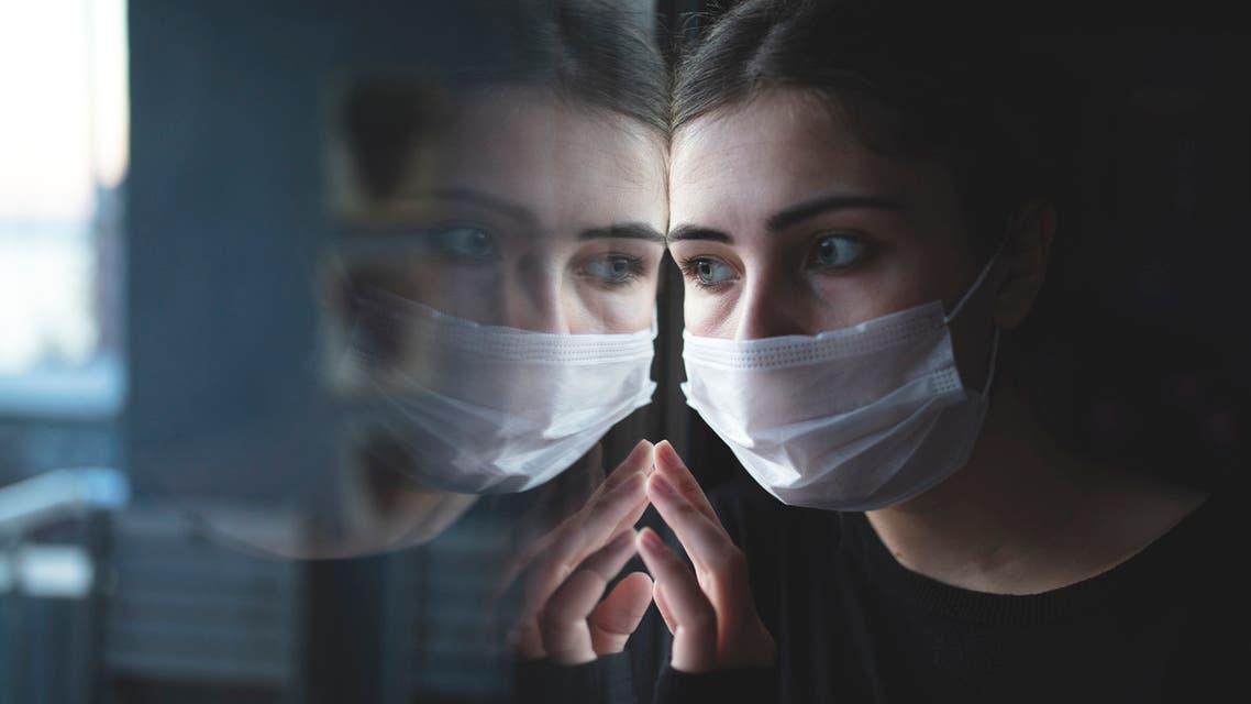 كورونا و الصحة النفسية تعبيرية