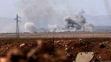 مشرقی شام میں فضائی حملہ،7 ایران نواز جنگجو ہلاک