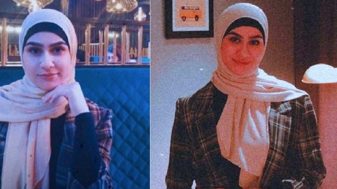 آية هاشم، طالبة حقوق عمرها 19 سنة