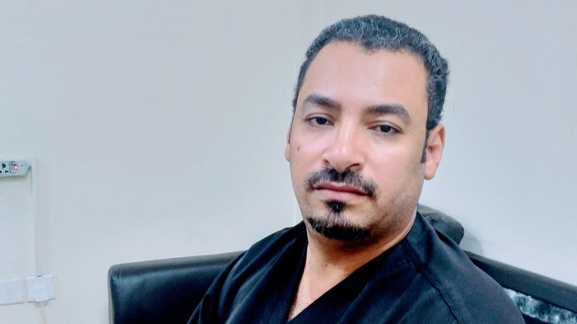 A photo of Khaled Abdullah al-Husseini, a Saudi Arabian nurse who died after his battle with COVID-19. (Twitter)