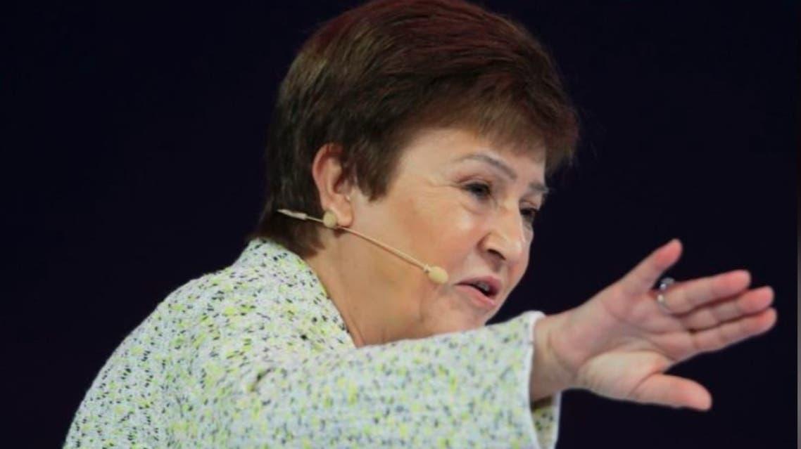 كريستالينا جورجيفا الرئيسة التنفيذية لصندوق النقد الدولي