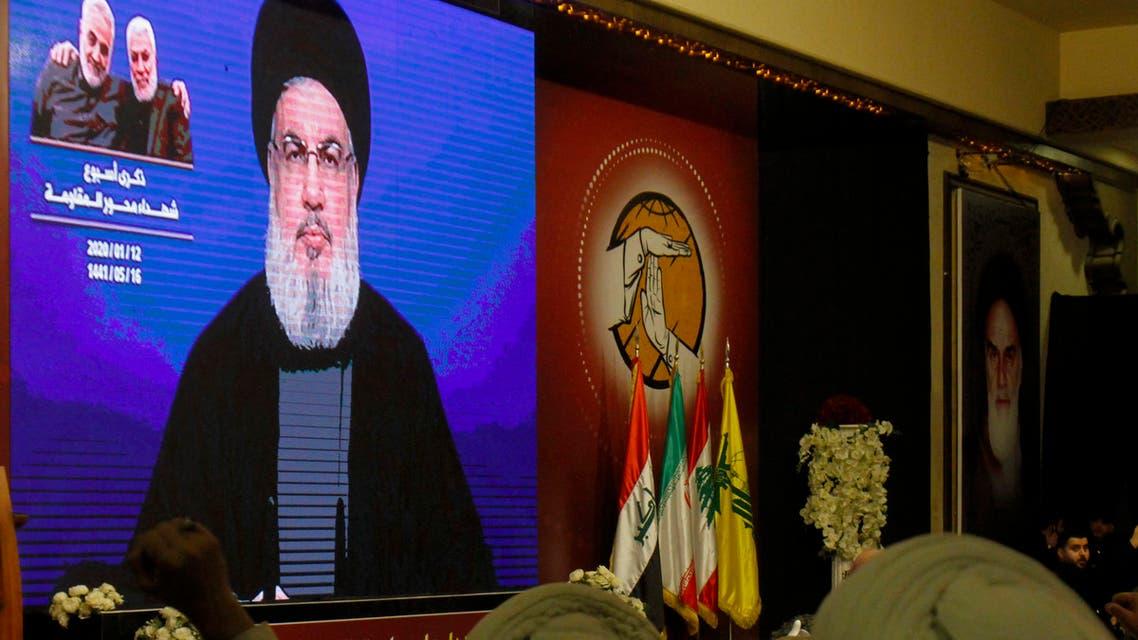 زعيم حزب الله (أرشيفية- فرانس برس)
