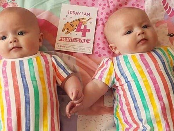 لغز عن إصابة كورونا لرضيعة وخلوّه تماماً من أختها التوأم