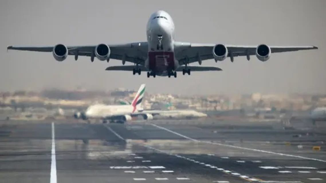 An Emirates Airline Airbus A380-800 plane takes off from Dubai International Airport in Dubai, UAE. (File photo: Reuters)