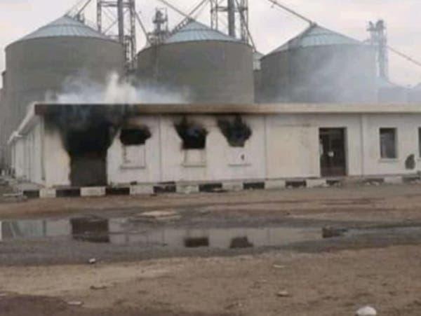 الحديدة.. قصف حوثي يستهدف طعام الجياع بمطاحن البحر الأحمر