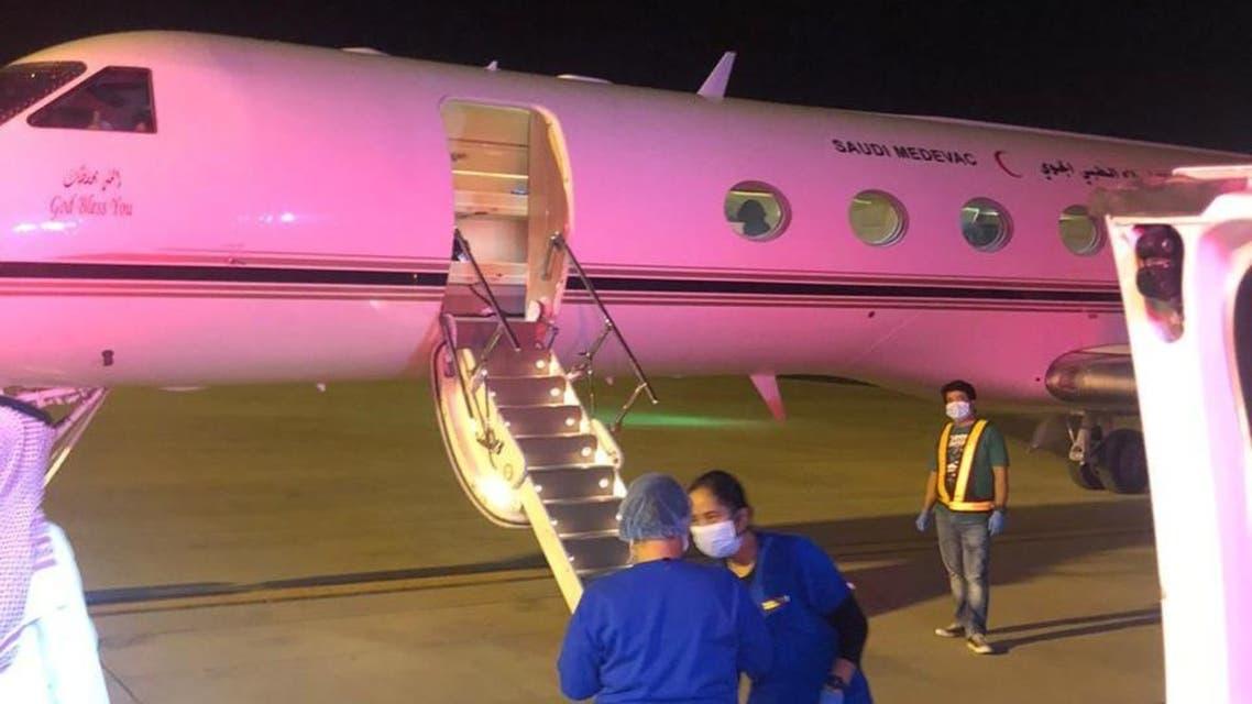طائرة اللإخلاء الطبي